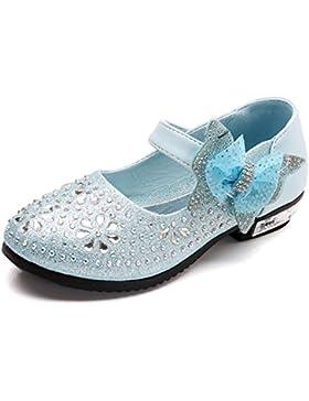 SITAILE Bambina Eleganti Principessa Scarpe di Cristallo per Ragazze Festa di Compleanno Scarpe Basse Sandali...