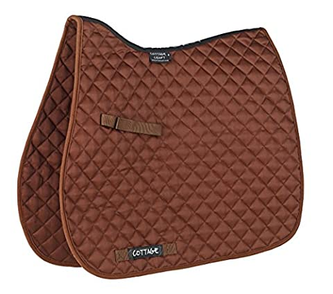 Cottage Craft Classic High Wither GP Saddlecloth - Brown, Full