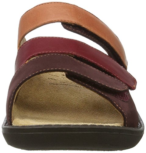 Ganter - Hera-h, Pantofole Donna Rot (Rubin/ziegel)