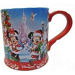 Original Disney Kaffee MUG EE Tasse Pott Weihnachen 2017 Disneyland Paris Mickey
