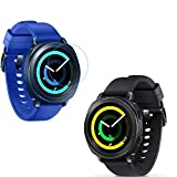 #8: Taslar® Screen Protector Arc Edge Tempered Glass Scratch Screen Protector Guard Card For Samsung Gear Sport Smartwatch