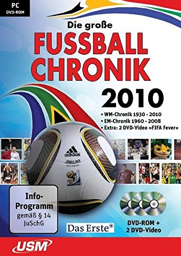 Die große Fußball-Chronik 2010 (inkl. DVD-Video)
