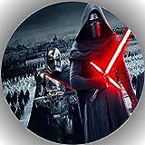 Fondant Tortenaufleger Tortenbild Geburtstag Star Wars T17