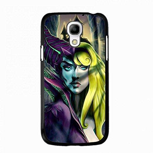 Preisvergleich Produktbild Artistic Design Maleficent Samsung Galaxy S4 MINI Case,Maleficent Phone Case Black Hard Plastic Case Cover For Samsung Galaxy S4 MINI