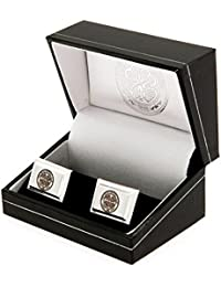 Celtic F.C. Silver Plated Cufflinks Official Merchandise