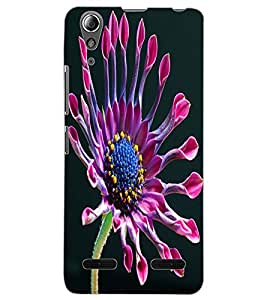 ColourCraft Beautiful Flower Design Back Case Cover for LENOVO A6000 PLUS