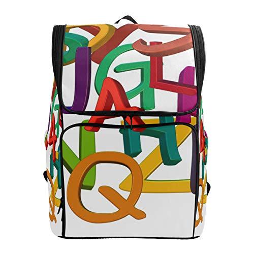 Rucksack Schultasche Reisetasche mit verstellbaren Schultergurten Slip -