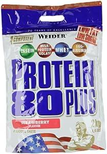 Weider 80 Plus Protein, Erdbeer (1 x 2 kg)