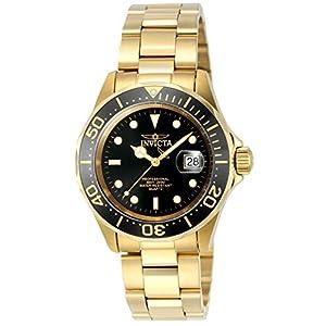 Invicta 9311 Pro Diver Reloj Unisex acero inoxidable Cuarzo Esfera negro