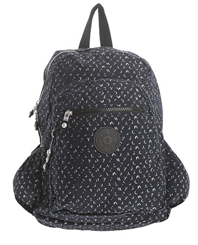 Big Handbag Shop, Borsa a zainetto donna Backpack Style 2 - Navy Symbol