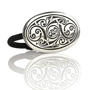Celtic Spirals – Haargummi aus England – keltische Muster & Spiralen