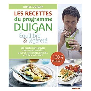 Les recettes du programme Duigan