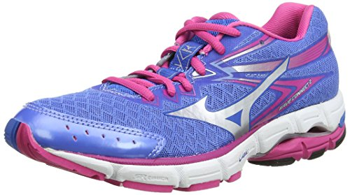Mizuno  Wave Connect 2,  Damen Laufschuhe Indigo
