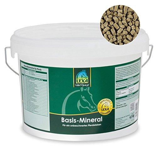 Lexa - Basis-Mineral Ergänzungsfuttermittel für Pferde - 4.5 kg