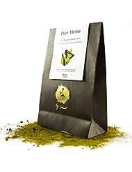 Henné Végétal Pur 250 g- CADEAU: Inclut Huile Argan 50 ml- Henné cheveux 100% naturel- Coloration végétale naturelle- Soin cheveux anti-pellicules