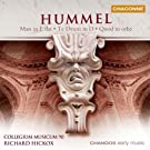 The Hummel Mass Edition Vol. 2: Mass In E Flat Major; Te Deum In D; Quod In Orbe - J.n. Hummel