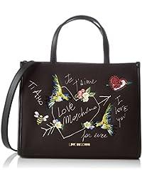 Love Moschino - Moschino, Mujer, Schwarz (Black Canvas), 10x21x28 cm (B x H T)