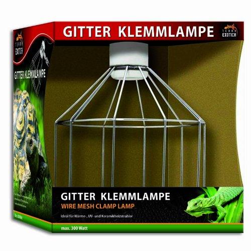Terra Exotica Gitter Klemmlampe - Wire Mesh Clamp Lamp