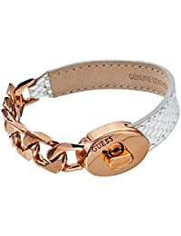 Guess Damen Armband Metall Leder UBS11404