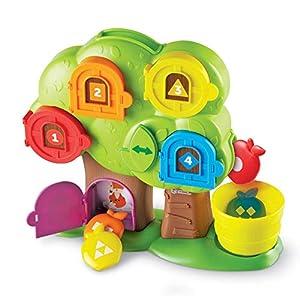 Learning Resources Hide & Seek Learning Treehouse Escondite en la casita del árbol didáctica, Color (LER7741)