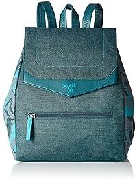 Baggit Women's Handbag (Teal Blue)