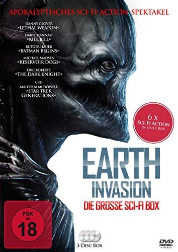Earth Invasion - Die große SciFi-Box [3 DVDs]