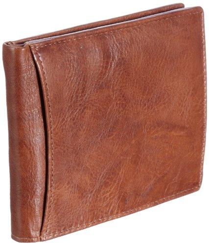 Bruno Banani Natural_4 W 320.845, Unisex - Erwachsene Portemonnaies, 12x10x1 cm (B x H x T) Beige (Cognac)
