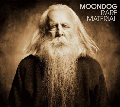 Rare material   Moondog (1916-1999). Compositeur