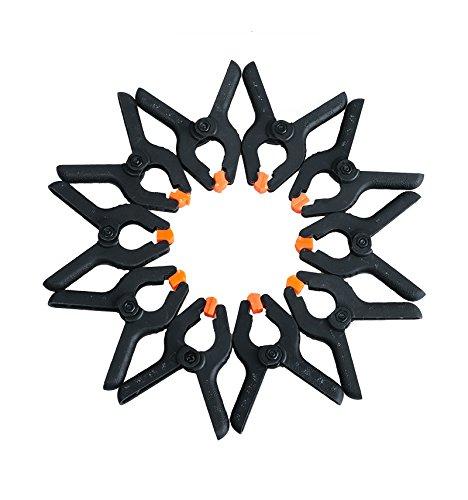 10pc 5,1 cm outils de bricolage Plastique Nylon Serrages pour menuiserie Spring Clip Photo Studio Grampo Clamp Hout Klemmen Sauterelle