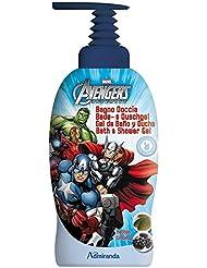 Marvel Studios Gel Bain Douche Avengers Ginseng et Baobab 1000 ml