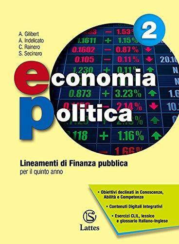 Economia politica 2. Lineamenti di Finanza Pubblica per il Quinto Anno
