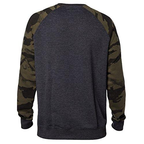 Fox Herren Legacy Crew Sweatshirt Schwarz