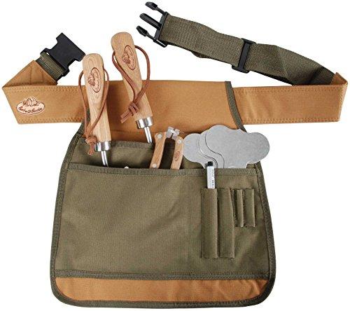 SIDCO ® Gartengeräte Gürtel Gartenschürze Garten Gürtel Tasche für Gartenwerkzeug