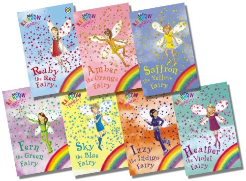 Rainbow Magic Colour Fairies Collection - 7 Books RRP 34.93 (1: Ruby the Red...