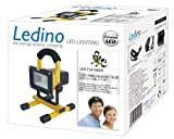 Ledino LED-Akkustrahler 10 W Li-Ionen Akku 2,2 Ah 4 Lichtstufen LED-FLA1002D