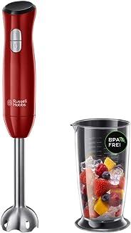 Russell Hobbs 24690-56 Desire El Blender'ı, 700ml, Krom/Plastik, 2 Hızlar, Kırmızı