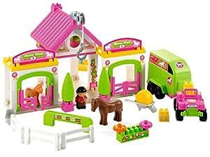 Ecoiffier 3092 jeu de construction club hippique abrick j - Jeux de construction de villa ...