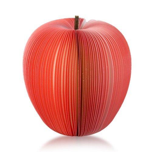WayGo Haftnotizen Notis Notizzettel Zettel Notizbloecke 140 Blatt Rot Apfel Obst