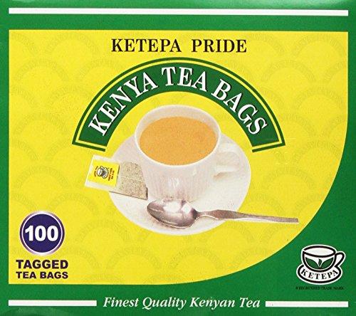 Pure Authentic Kenyan KETEPA PRIDE Kenyan Tea Bags Test