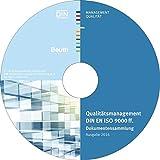 Produkt-Bild: Qualitätsmanagement DIN EN ISO 9000 ff., CD-ROMDokumentensammlung; Ausgabe 2016 Einzelplatzversion. Hrsg.: DIN e.V.