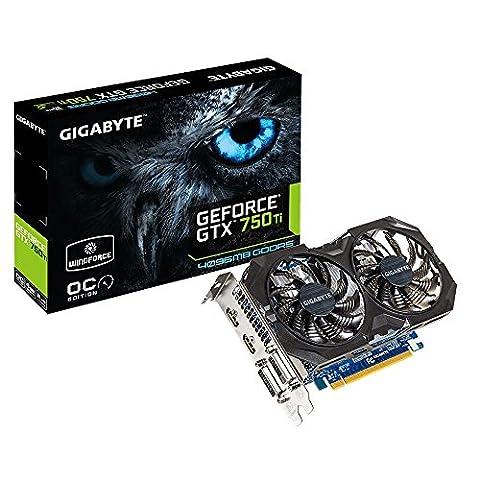 Nvidia Gtx 750 Ti - Gigabyte N75TWF2OC-4G Carte graphique Nvidia GeForce GTX