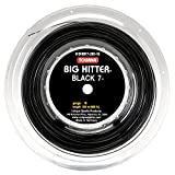 Tourna Big Hitter Black 7 Ultimate Spin String, BLACK7 Bobina, Unisex, BHBK7-200-16, Nero, 16g Reel