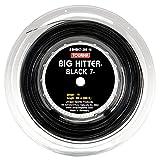 Tourna Big Hitter Black 7Ultimate Spin String, BLACK7Bobina, Unisex, BHBK7-200-16, Nero, 16g Reel