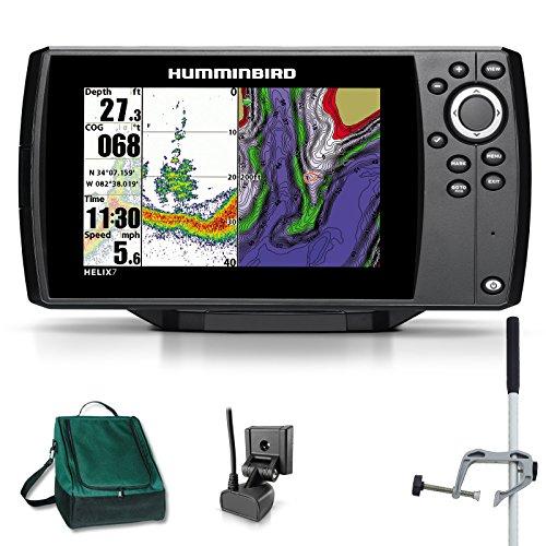 Humminbird Helix 7 Sonar GPS Echolot Seekartenplotter Combo Portabel Master Plus