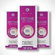 Ketone Test Strips 100s by Medicon