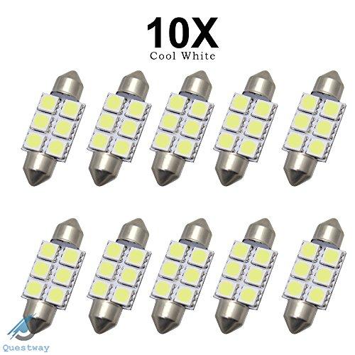 10-x-led-6-smd-5050-lampe-c5w-36mm-dc12v-blanche-brillant-plaque-navette-ampoule-plafonnier-veilleus