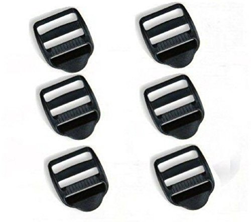 6-x-25mm-black-plastic-webbing-ladderlock-buckles
