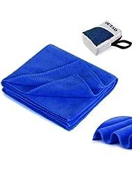 OUTAD Microfibra Toalla Absorbente Compacto y Rápido de la Toalla de Viaje de Secado Deportes con Bolsa de Transporte