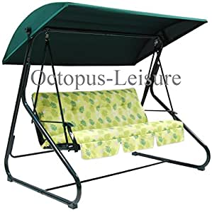 Replacement B Amp Q Sorrento Sicily Green Cloth Canopy Only