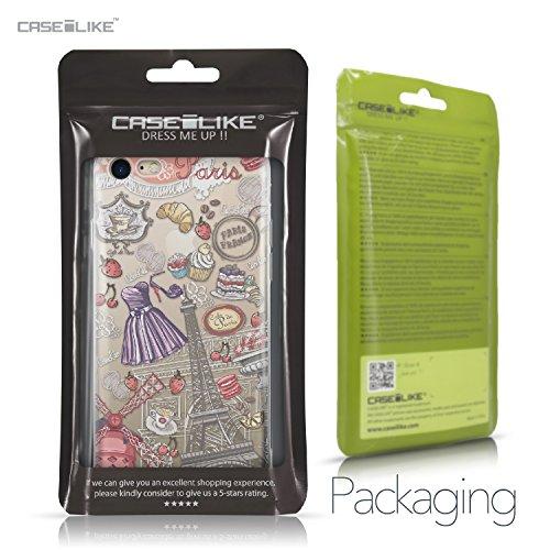 CASEiLIKE Coque iPhone 7 , Ultra Mince Crystal Case TPU Silicone Clair Transparente Exact Fit Soft Housse Etui Coque Pour iPhone 7 Paris vacances 3907